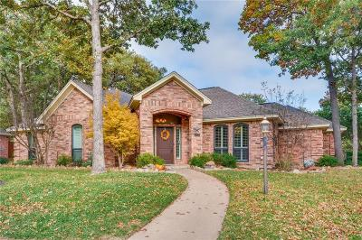 Azle Single Family Home For Sale: 1600 Spinnaker Lane