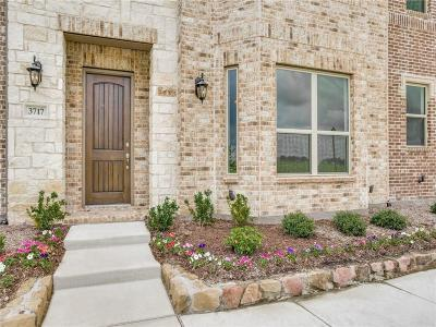 Frisco Townhouse For Sale: 3717 Dutchess Drive