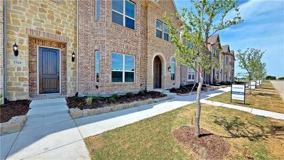 Frisco Townhouse For Sale: 3765 Dutchess Drive