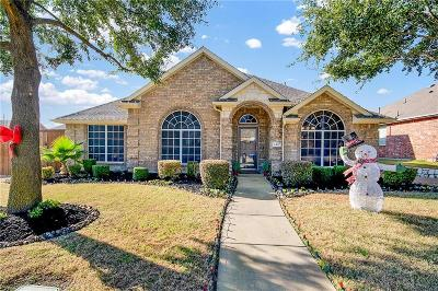 Rockwall Single Family Home Active Contingent: 1417 Red Wolf Drive