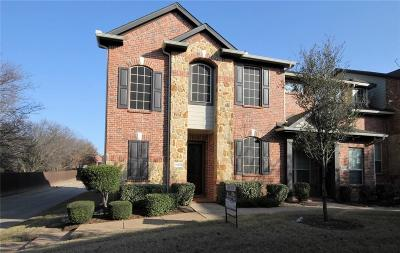Denton County Townhouse For Sale: 1617 Black Duck Terrace #F