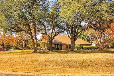 Sherman Single Family Home Active Option Contract: 3413 Montclaire Drive