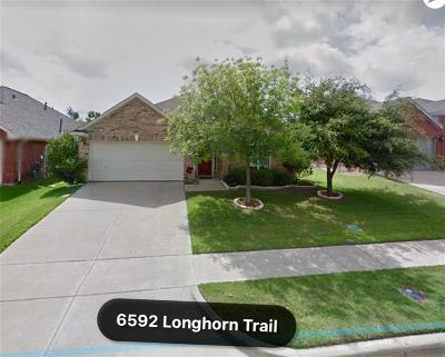 Frisco Single Family Home Active Option Contract: 6592 Longhorn Trail