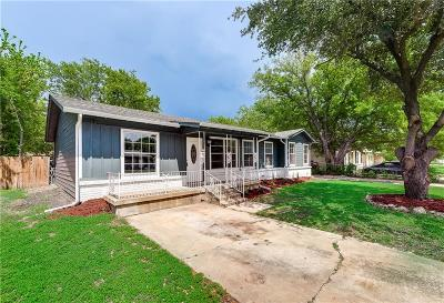Haltom City Single Family Home Active Option Contract: 4921 Sabelle Lane