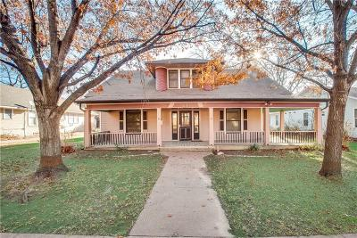 Waxahachie Single Family Home For Sale
