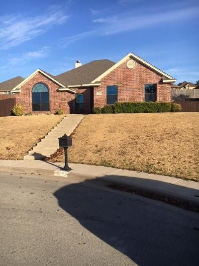 Weatherford Single Family Home For Sale: 2105 Ridgecrest Drive