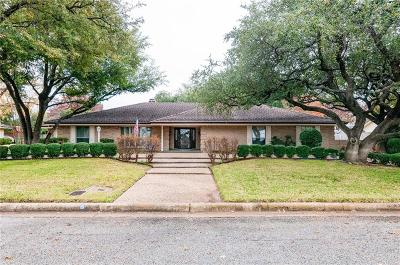 Fort Worth Single Family Home Active Option Contract: 5608 Oakmont Lane