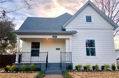 North Fort Worth Single Family Home For Sale: 1307 N Calhoun Street
