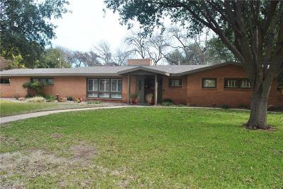 Abilene Single Family Home For Sale: 1469 Tanglewood Road