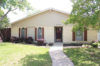 Denton County Single Family Home For Sale: 2040 Ash Hill Road