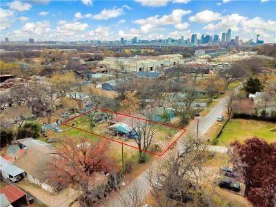 Dallas County Residential Lots & Land For Sale: 1835 Pollard Street
