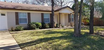 Bedford, Euless, Hurst Single Family Home For Sale: 504 Arcadia Street