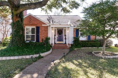 Dallas Single Family Home For Sale: 6038 Revere Place