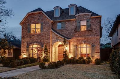 Dallas TX Single Family Home For Sale: $1,375,000
