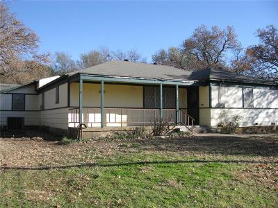 Hamilton TX Single Family Home For Sale: $89,500
