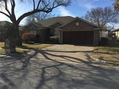 Bedford Residential Lease For Lease: 3305 Timber View Circle