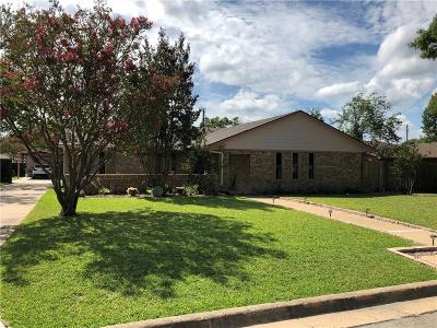 Sherman Single Family Home For Sale: 1514 Andy Drive