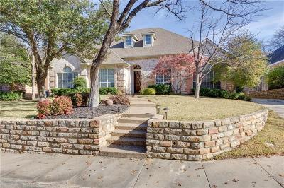 Grapevine Single Family Home Active Option Contract: 3357 Pecan Hollow Court