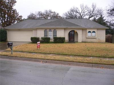 Bedford Single Family Home Active Option Contract: 1724 Schumac Lane