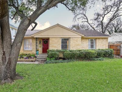 Dallas Single Family Home For Sale: 534 Kirkwood Drive
