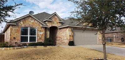 Waxahachie Single Family Home Active Option Contract: 111 Liberty Way