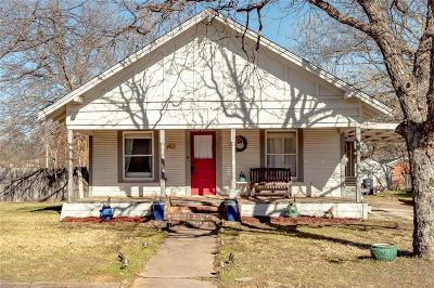 Weatherford Single Family Home Active Option Contract: 320 W Bridge Street