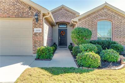 Denton Single Family Home For Sale: 3608 Cotten Drive