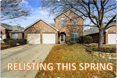 Denton County Single Family Home For Sale: 2736 Cedar Wood Drive