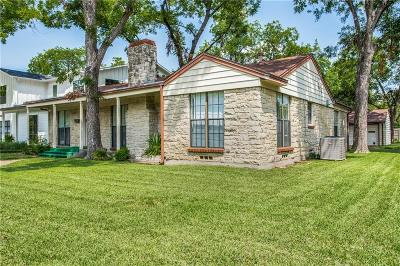 Dallas Single Family Home For Sale: 4402 Somerville Avenue
