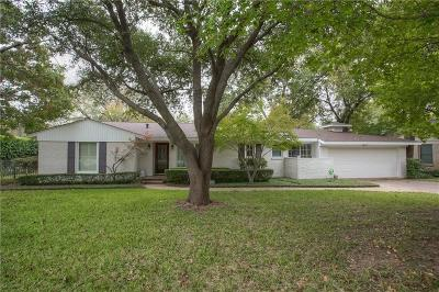 Fort Worth Single Family Home For Sale: 3629 Manderly Place