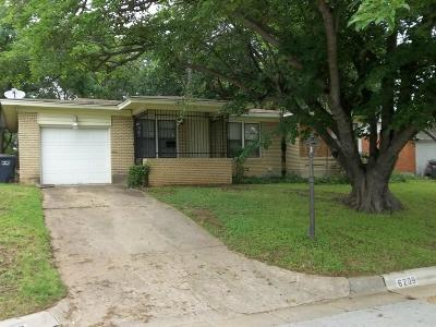 Fort Worth Residential Lease For Lease: 6209 Greenlee Street