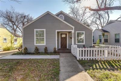 Fort Worth Single Family Home For Sale: 3805 Collinwood Avenue