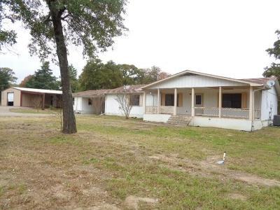 Quitman Single Family Home For Sale: 4045 E State Highway 154