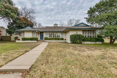 Fort Worth Single Family Home For Sale: 3600 Norfolk Road