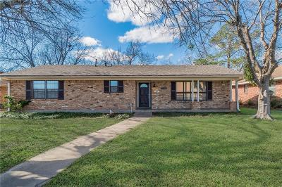 Sherman Single Family Home For Sale: 1720 Robin Drive