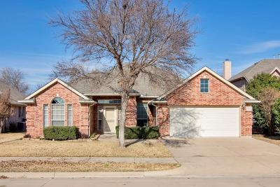 Denton Single Family Home Active Option Contract: 5916 Creekway Drive