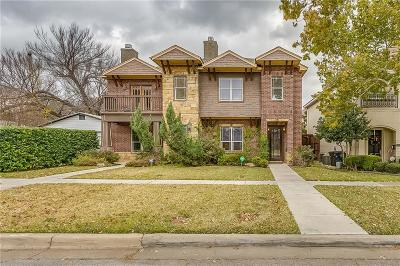 Fort Worth Townhouse For Sale: 4612 Pershing Avenue