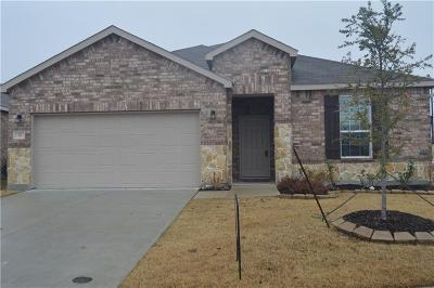 Fate Single Family Home For Sale: 313 Citrus Drive