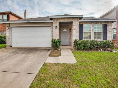 Fort Worth Single Family Home For Sale: 1608 Diamond Lake Trail