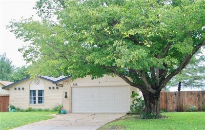 Lewisville Single Family Home For Sale: 238 Village Drive