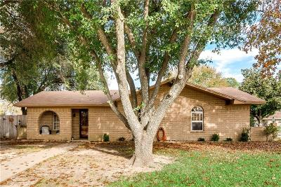 Kaufman Single Family Home Active Option Contract: 1619 Anthony Street