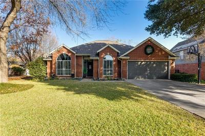Grapevine Single Family Home Active Option Contract: 3320 Shadow Ridge