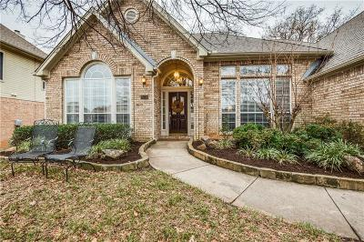 Grapevine Single Family Home Active Option Contract: 2121 Brookgate Drive