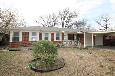 Haltom City Single Family Home Active Option Contract: 3905 Haltom Road