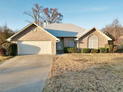 Lindale Single Family Home Active Option Contract: 841 Edgewood Circle