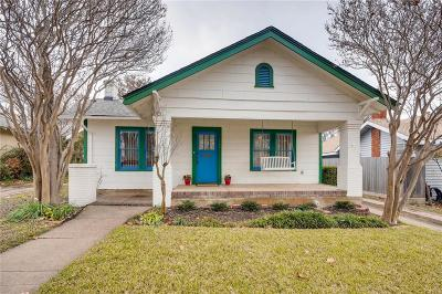 Fort Worth Single Family Home For Sale: 1721 Clover Lane