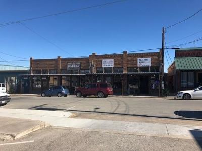 Weatherford Commercial For Sale: 218 York Avenue