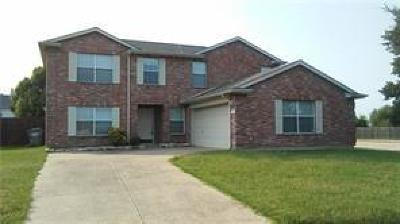 Forney Single Family Home For Sale: 1217 Singletree Court