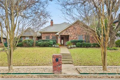 Grapevine Single Family Home Active Option Contract: 3037 Old Mill Run