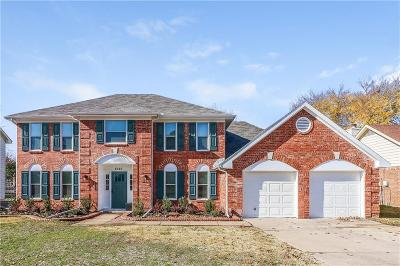 Grapevine Single Family Home For Sale: 4146 Heartstone Drive